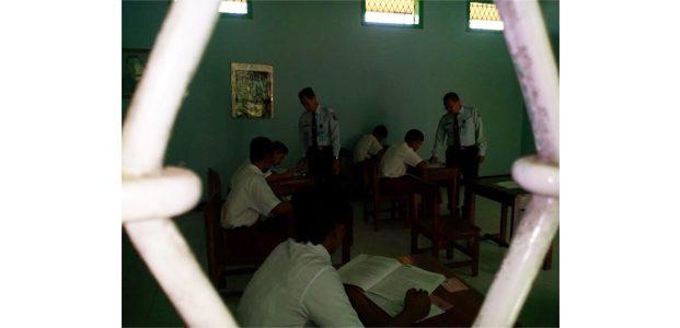 Enam Anak Binaan Ikuti Ujian Nasional di dalam LPKA Kelas 1 Blitar
