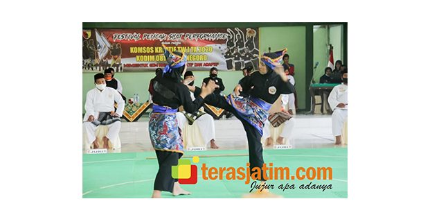 Festival Silat Kodim 0813, PSHT Bojonegoro Sabet Juara I dalam 3 Kategori Pertandingan