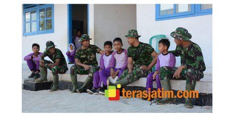 Fikri, Siswa Madrasah di Lokasi TMMD Sumenep yang Ingin Jadi TNI