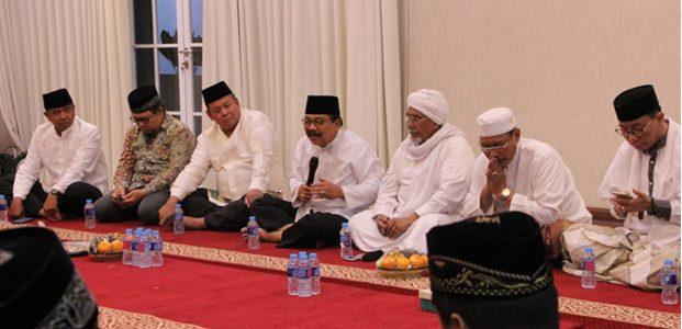 Forkopimda Jatim Gelar Cangkrukan dengan Ulama dan Ormas Islam