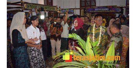 Galeri Batik di Asrama Bosbow Madiun Diresmikan