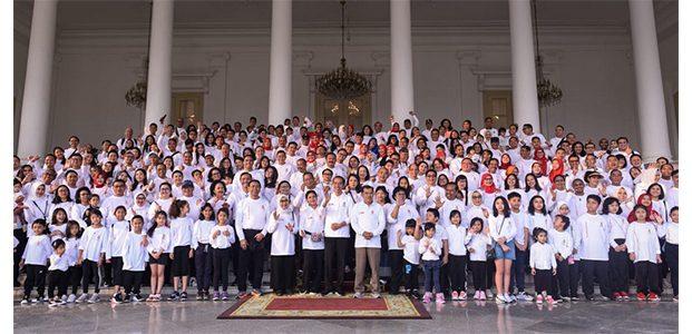 Gelar Gathering, Presiden Undang Menteri dan Mantan Menteri Kabinet Kerja