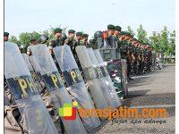 Gelar Pasukan, Armed 12/Kostrad Pastikan Siap Kawal Pemilu di Ngawi