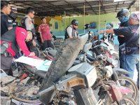 Gelar Razia di Darungan Lumajang, Polisi Temukan 5 Motor Bodong di Area Perkebunan