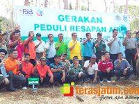 Gerakan Peduli Resapan Air, PT. PJB UBJ O dan M PLTU Pacitan Luncurkan Biopori dan Sumur Resapan