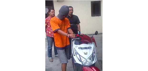 Gondol Motor Mantan Pacar, Pria asal Padas Ngawi Ditangkap Polisi