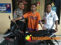 Gondol Motor Milik Penjual Es, Pria asal Bangkalan Dibekuk Warga