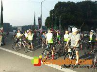 Gowes Bareng Surabaya-Lamongan, Pangdam Beri Santunan