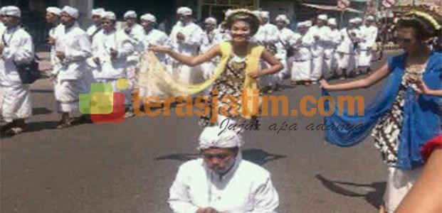 Grebeg Suro, Ribuan Warga Padati Kota Kediri