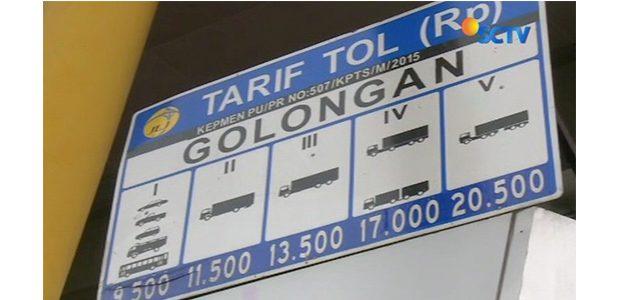 Gubernur Berharap Penurunan Tarif Tol Seharusnya 30 Persen