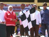 Gubernur Buka Grand Final Kerapan Sapi Piala Presiden 2019 di Bangkalan