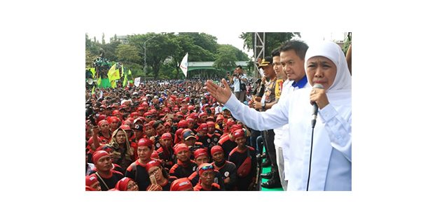 Gubernur Jatim Beri Kuota Khusus Masuk SMA/SMK Bagi Anak Buruh Tak Mampu