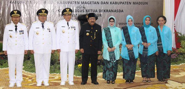Gubernur Jatim Lantik 3 Penjabat Bupati