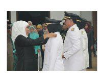 Gubernur Jatim Lantik Walikota/Wakil Walikota Kediri dan Madiun