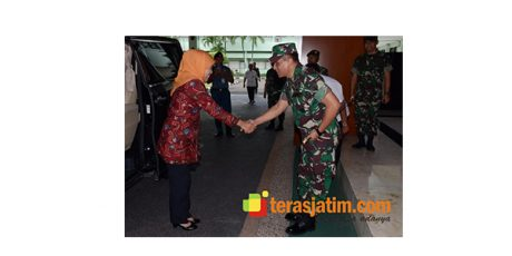 Samakan Persepsi, Gubernur Jatim Temui Pangdam Brawijaya
