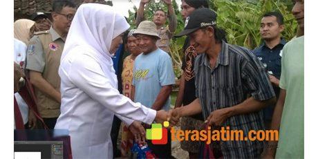 Gubernur Jatim Tinjau Lokasi Terdampak Bencana di Bojonegoro