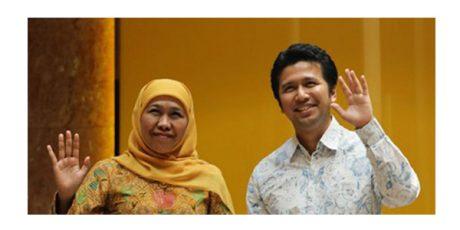 Usai Dilantik, Khofifah-Emil Langsung Sambangi KPK