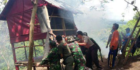 Diduga Aliran Sesat, 6 Orang di Gunung Sukmo Ilang Jember Diamankan