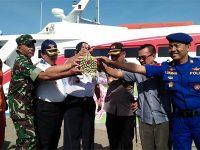 Gunakan Kapal Cepat, Ratusan Orang Ikuti Mudik Gratis di Pelabuhan Jangkar Situbondo
