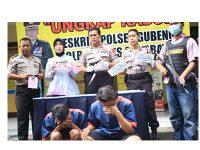 Gunakan Mobil Sewaan, Kawanan Maling Motor asal Lumajang ini Satroni Surabaya