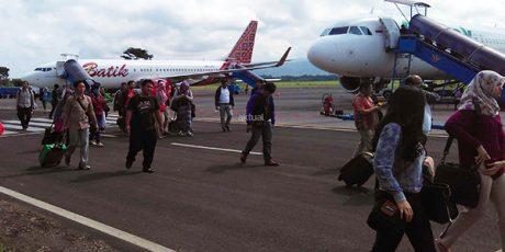 H-3 Lebaran, Bandara Abdulrachman Saleh Malang Tambah 3 Jadwal Penerbangan