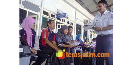 H-7 Lebaran, Tiket Kereta Api dari Jombang Ludes Terjual