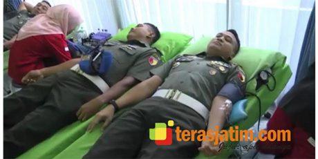 HUT Pomad ke-73, Pomdam Brawijaya Gelar Donor Darah