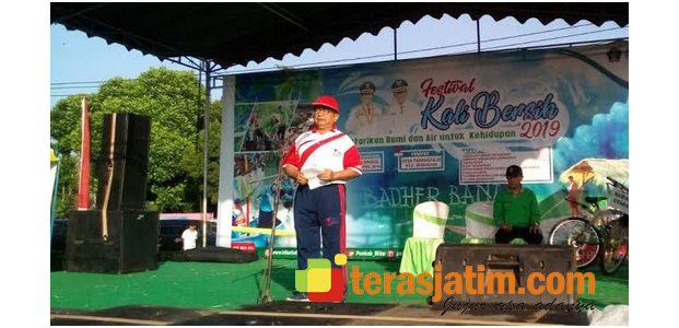 Hadiri Puncak Festival Kali Bersih, Bupati Blitar Ajak Warga Rawat dan Jaga Sungai