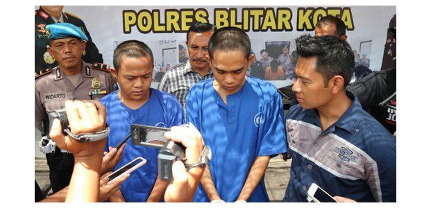 Hajar Pemuda Ponggok Hingga Pendarahan, 2 Pemuda asal Bedali Kediri ini Masuk Bui