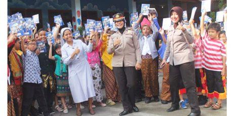 Hari Kartini, Ini yang Dilakukan Anggota Polwan di Kediri