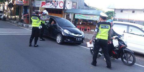 Hari ke Lima Operasi Patuh 2017 di Bojonegoro, Polisi Tindak 146 Pelanggar Lalu Lintas