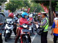 Hari Ketiga Operasi Patuh di Bojonegoro, 180 Pelanggar Ditindak Dalam 1,5 Jam