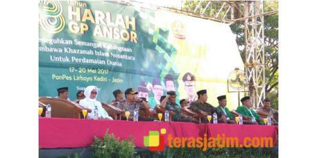 Harlah Ke 83 GP Ansor se-Jatim Digelar di Ponpes Lirboyo Kediri