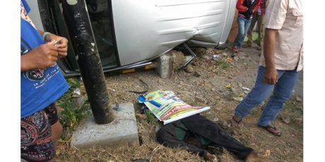Hendak Nyekar ke Makam, Pria ini Tewas Tertabrak Mobil