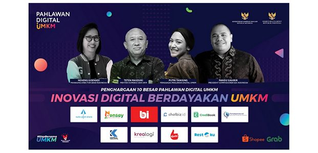Ini Daftar 10 Pahlawan Digital UMKM 2020