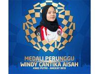 Lifter Windy Cantika Aisah Persembahkan Medali Pertama untuk Indonesia di Olimpiade Tokyo
