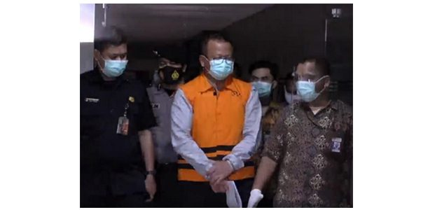 Jadi Tahanan KPK, Edhy Prabowo Mundur dari Jabatan Menteri KKP