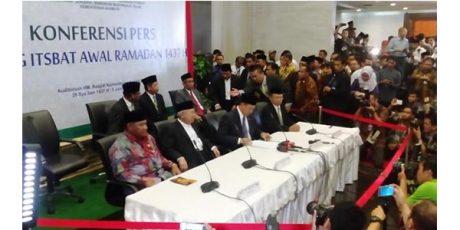 Hilal Terlihat di 6 Wilayah, Malam Ini Masuk Bulan Ramadhan