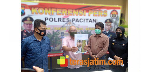 Hina Institusi Polri di Group WA, Pensiunan PNS di Pacitan Minta Maaf