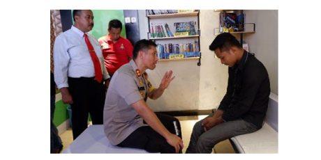 Hina Polisi di Facebook, Tukang Bakso di Lumajang Diamankan