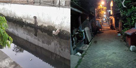 Hirup Limbah B3 dari Selokan, Dua Warga Simo Kwagean Kuburan Surabaya Muntah Darah