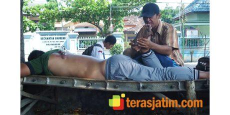 Hudi Sang Tukang Pijat Kaki Lima ini, Mimpikan Bisa Mijit Bupati Bojonegoro