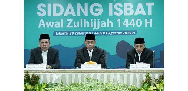 Idul Adha 1440H Jatuh Pada Minggu 11 Agustus
