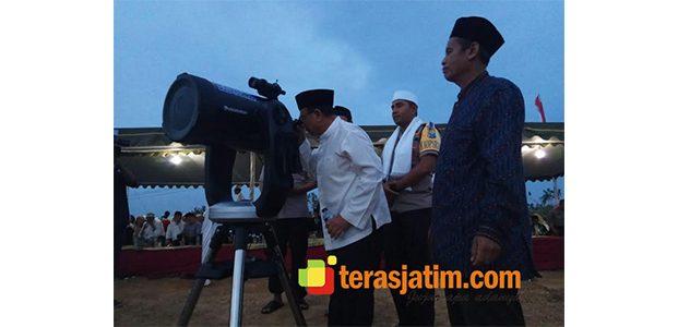 Ikut Rukyatul Hilal, Bupati Blitar Sebut Bukit Banjarsari Sebagai Wisata Religi
