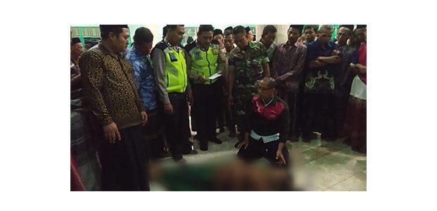 Ikuti Pengajian di Masjid, Seorang Warga di Balen Bojonegoro Meninggal Mendadak