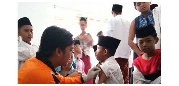 Imunisasi Difteri di 4 Kabupaten di Pulau Madura Sasar 1,2 Juta Anak