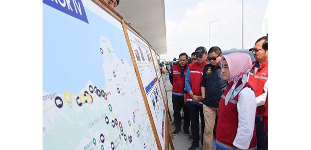 Inspeksi Kesiapan SPBU, Menteri Jonan Pastikan Pasokan BBM di Jalur Lintas Jawa Aman