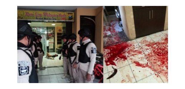 Jadi Korban Penyerangan, Anggota Polsek Wonokromo Jalani Operasi Medis