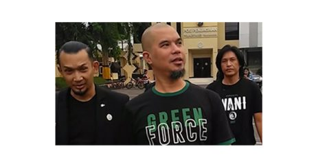 Jadi Pelapor, Ahmad Dhani Datangi Polrestabes Surabaya
