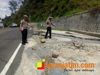 Jalan Ambles, Jalur Ponorogo-Pacitan Dialihkan Melalui Wonogiri